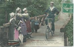 La Lecon De Bicyclette 1 T/m 6 - Postcards