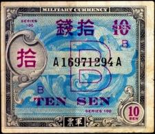MILITARY CURRENCY-10 SEN- JAPAN-SERIES100-H-609 - Japon