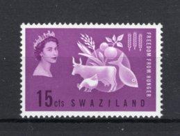 SWAZILAND Yt. 107 MNH** 1963 - Swaziland (...-1967)