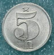 Czechoslovakia 5 Hellers, 1979 -1674 - Czechoslovakia