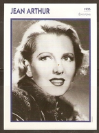 PORTRAIT DE STAR 1935 ETATS UNIS USA - ACTRICE JEAN ARTHUR - ACTRESS CINEMA - Fotos
