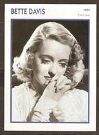 PORTRAIT DE STAR 1935 ETATS UNIS USA - ACTRICE BETTE DAVIS - ACTRESS CINEMA - Fotos
