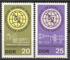 DDR 1113/14 ** Postfrisch - Ungebraucht