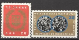 DDR 1115/16 ** Postfrisch - DDR