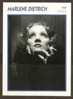 PORTRAIT DE STAR 1935 ETATS UNIS USA - ACTRICE MARLENE DIETRICH - ACTRESS CINEMA - Fotos