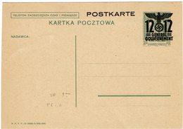 """FAL7- IIGM  OCCUPATION DE LA POLOGNE """"GENERAL GOUVERNEMENT"""" CP P6/II NEUVE - 1939-44: 2ème Guerre Mondiale"""