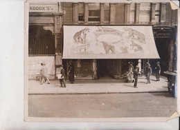 COLOUR ADVERT  LONDON OXFORD STREET CHARLES WAYRE LTD CIRCUS CIRCO ZIRKUS CIRCUS  25* 20CM Fonds Victor FORBIN 1864-1947 - Lugares