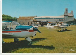 C.P. - PHOTO - LA FERTE ALAIS - LE CENTRE AERIEN - AIR FRANCE - F-BASQ - CIM - E 91 232 17 1 034 - La Ferte Alais
