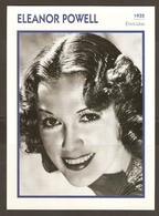 PORTRAIT DE STAR 1935 ETATS UNIS USA - ACTRICE ELEANOR POWELL - ACTRESS CINEMA - Fotos