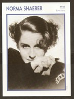 PORTRAIT DE STAR 1935 ETATS UNIS USA - ACTRICE NORMA SHAERER - ACTRESS CINEMA - Fotos