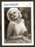 PORTRAIT DE STAR 1935 ETATS UNIS USA - ACTRICE JEAN HARLOW - ACTRESS CINEMA - Fotos