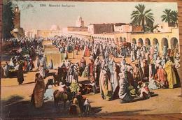 Cpa, Marché Indigène, Algérie, éditions CAP, écrite En 1931 D'Alger - Algeria