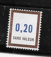 France Fictif: N° F 193 ** ,fraîcheur Postale - Phantomausgaben