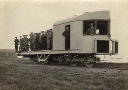 MILATARY RAILWAY CHEMIN DE FER 20* 15 CM Fonds Victor FORBIN 1864-1947 - Trenes