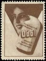 Dresden: Odol Mundwasser Reklamemarke - Cinderellas