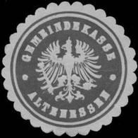 Altenessen: Gemeindekasse Altenessen Siegelmarke - Cinderellas