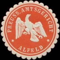 Alfeld: Pr. Amtsgericht Alfeld Siegelmarke - Cinderellas