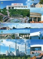 Kazakhstan 2018. A Set Of 18 Post Cards With Views Of Karaganda. - Kasachstan