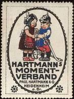 Heidenheim: Hartmanns Momentverband Reklamemarke - Cinderellas