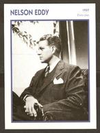 PORTRAIT DE STAR 1937 ETATS UNIS USA - ACTEUR NELSON EDDY - ACTOR CINEMA - Fotos
