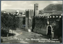 °°° Cartolina N. 81 Rieti Mura Medioevali E Caserma A. Verdirosi Medaglia D'oro 1915/1918 Nuova °°° - Rieti
