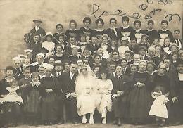 C A R T E   PHOTO  Groupe Costumes Acordéon Mariage Non Située - Photographie