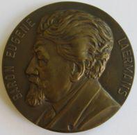 M05322  BARON EUGENE LAERMANS - 1938 - Son Profil (206g) Au Peintre Des Humbles Au Revers - Royaux / De Noblesse