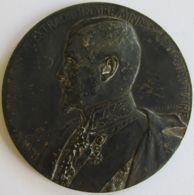 M05320  BARON CAPELLE - 1912 - Son Buste (106g) La Commision Permanente... Au Revers - Royal / Of Nobility