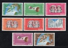 PARAGUAY Mi. 1503/1510 MH* 1966 - Paraguay
