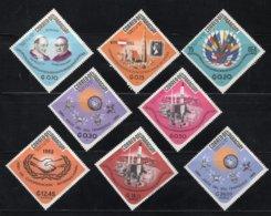 PARAGUAY Mi. 1519/1526 MH* 1966 - Paraguay