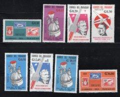 PARAGUAY Mi. 1559/1566 MH* 1966 - Paraguay