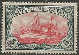 German New Guinea - 1914 Kaiser's Yacht 5mk Mint Hinged    Sc 23 - Colony: German New Guinea