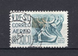 MEXICO Yt. PA183K° Gestempeld Luchtpost 1953-1956 - Mexique