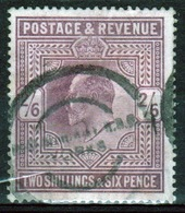 GB Edward VII High Value 2/6d Purple/lilac Stamp From 1902. - Used Stamps