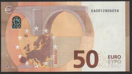 "50 EURO FRANCE  EA E001 ""01"" - DRAGHI   UNC - EURO"