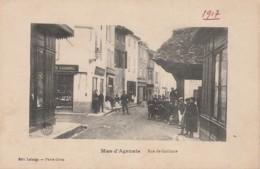 A23- 47) MAS D'AGENAIS (LOT ET GARONNE) - (TRES ANIMEE - VILLAGEOIS - ECOLIERS - 2 SCANS - France