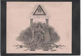 Carton Ancien Franc Maçonnerie Maçonnique Masonic Franc Maçon 1905 Grand Orient De France - Philosophy