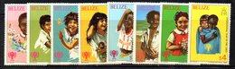 CI1173A - BELIZE 1980 , Serie Yvert N. 472/479 ***  MNH  (2380A) - Belize (1973-...)