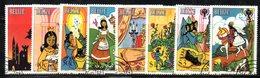CI1171 - BELIZE 1980 , Serie Yvert N. 495/502 Usata (2380A)  Infanzia - Belize (1973-...)