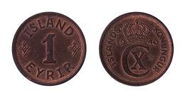 Iceland / 1940 / 1 Eirir / KM 5.2 / XF - Islande