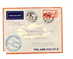 Devant De Lettre Cachet Hanoi Tonkin Sur Dommer Entete Gouvernement - Indochine (1889-1945)