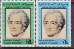 Comore 1982 - Goethe  Set MNH - Isole Comore (1975-...)