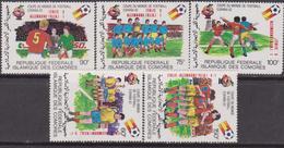 Comore 1982 - Calcio Football Set MNH - Isole Comore (1975-...)