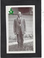 CPA Maçonnique Circulé Masonic Franc Maçonnerie Franc Maçon Ipersonnage à Identifier Carte Photo RPPC - Philosophy