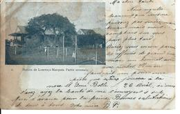AFRIQUE - MOZAMBIQUE MAPUTO Station De Lourenço Marques, Partie Orientale - Circulé Le 10.04.1902 Vers Le Crêt Du Locle - Mozambique