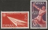 1966-ED. 1765 A 1766 -COMPLETA- CORREO URGENTE. ALEGORIAS-NUEVO - 1931-Today: 2nd Rep - ... Juan Carlos I