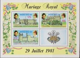 Comore 1982 - Diana Sheet MNH - Isole Comore (1975-...)