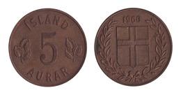 Iceland / 1960 / 5 Auriar / KM 9 / XF - Islande
