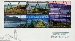 New Zealand - 2019 - Lighthouse Perspectives - Mint Souvenir Sheet With Varnish - Neufs