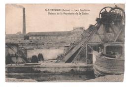 92.398 / NANTERRE - Les Sabliéres - Usines De La Papeterie De La Seine - Nanterre